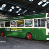 Nottingham Heritage Vehicles GAU728L, Hucknall Bus Depot, 10-01-2016