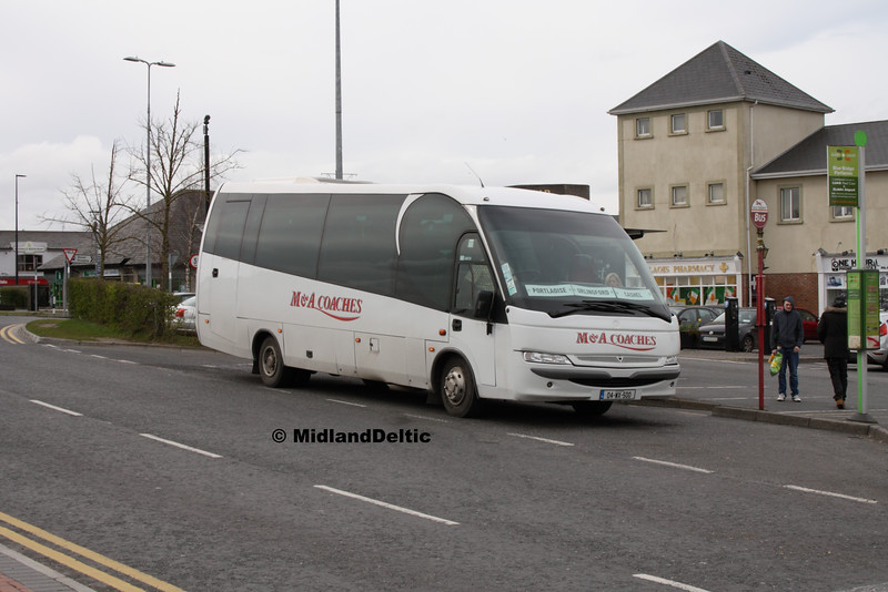 M&A Coaches 04-WX-500, James Fintan Lawlor Ave Portlaoise, 25-03-2016