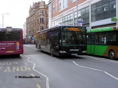 TrentBarton 693, Milton St Nottingham, 22-02-2014
