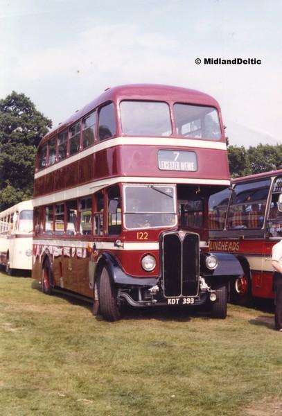 Doncaster Corporation 122, Wollaton Park Nottingham