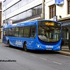 TrentBarton 668, Friar Lane Nottingham, 22-02-2014
