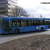TrentBarton 608, Maid Marian Way Nottingham, 22-02-2014