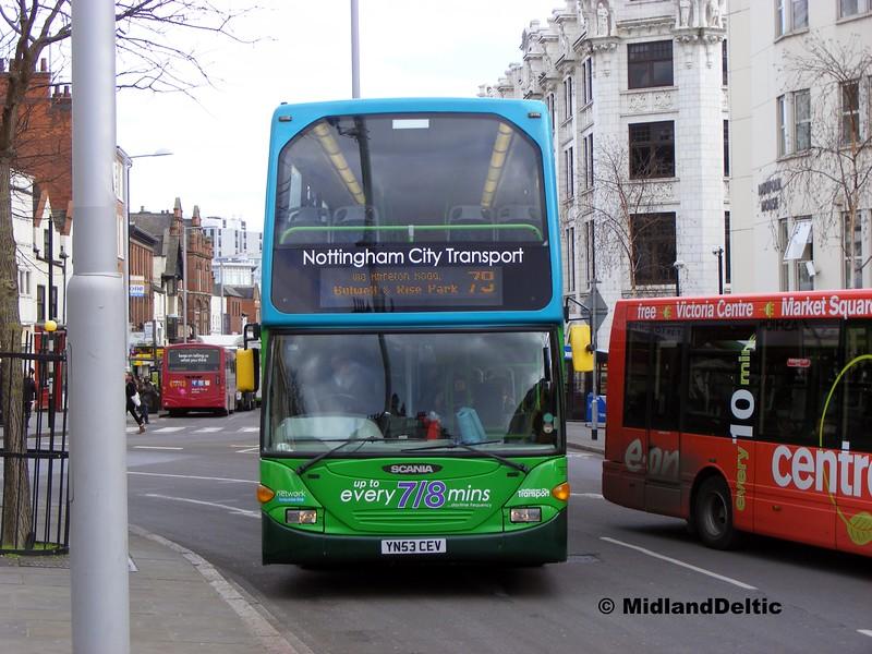 NCT 732, Upper Parliament St Nottingham, 22-02-2014