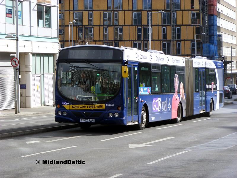 NCT 705, Maid Marian Way Nottingham, 22-02-2014