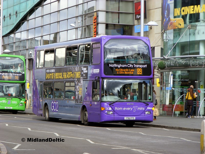 NCT 930, South Sherwood St Nottingham, 22-02-2014