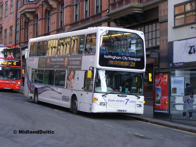 NCT 958, King St Nottingham, 22-02-2014