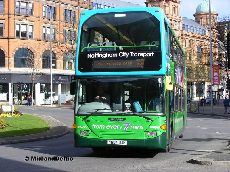 NCT 745, Tollhouse Hill Island Nottingham, Nottingham, 22-02-2014