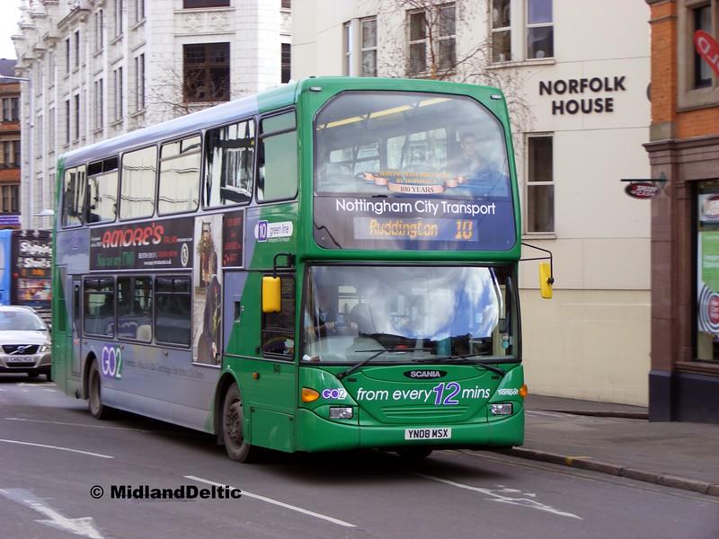 NCT 948, Upper Parliament St Nottingham, 22-02-2014