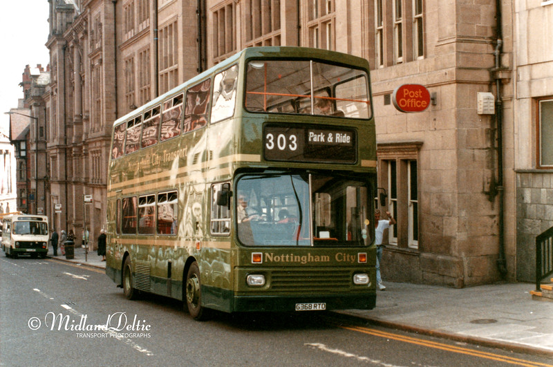 NCT 368, Queen Street Nottingham, Undated