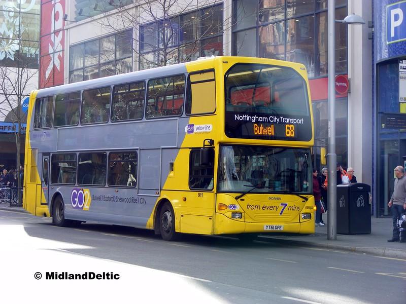 NCT 911, Milton St Nottingham, 22-02-2014