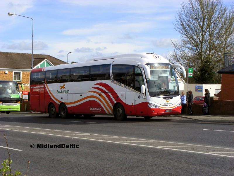 Bus Éireann SE11, James Fintan Lawlor Avenue Portlaoise, 01-04-2014