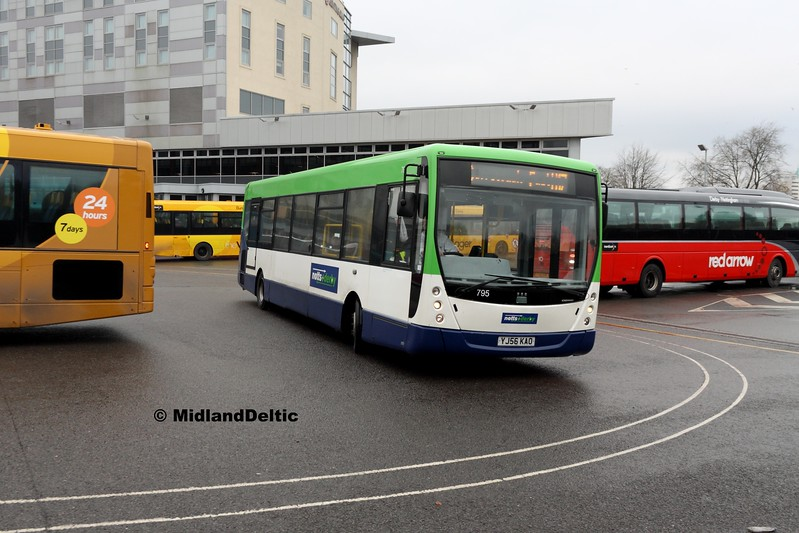 Notts & Derby 795, Derby Bus Station, 07-01-2017