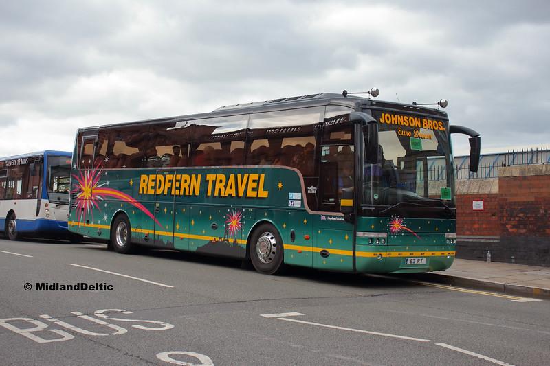 Redfern Travel 63RT, Carrington St Nottingham, 18-08-2018