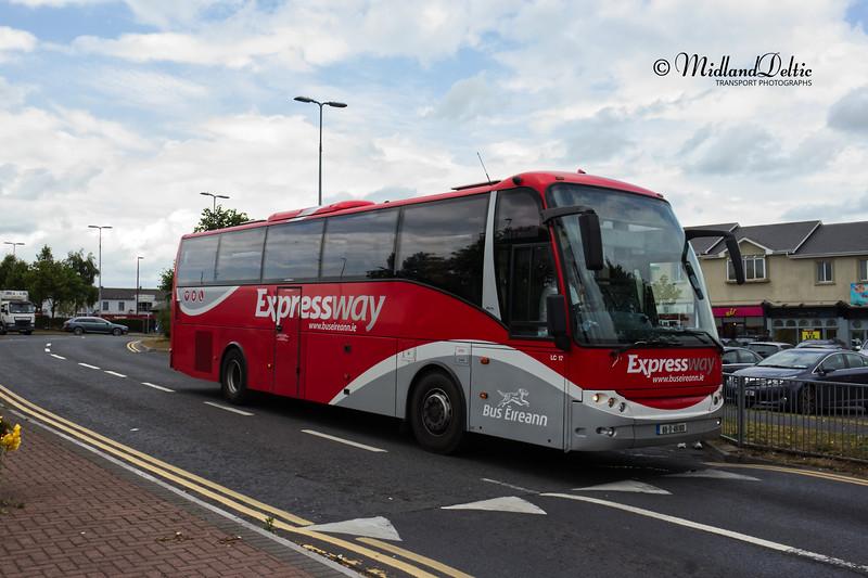 Bus Éireann LC17, James Fintan Lawlor Ave Portlaoise, 16-07-2020