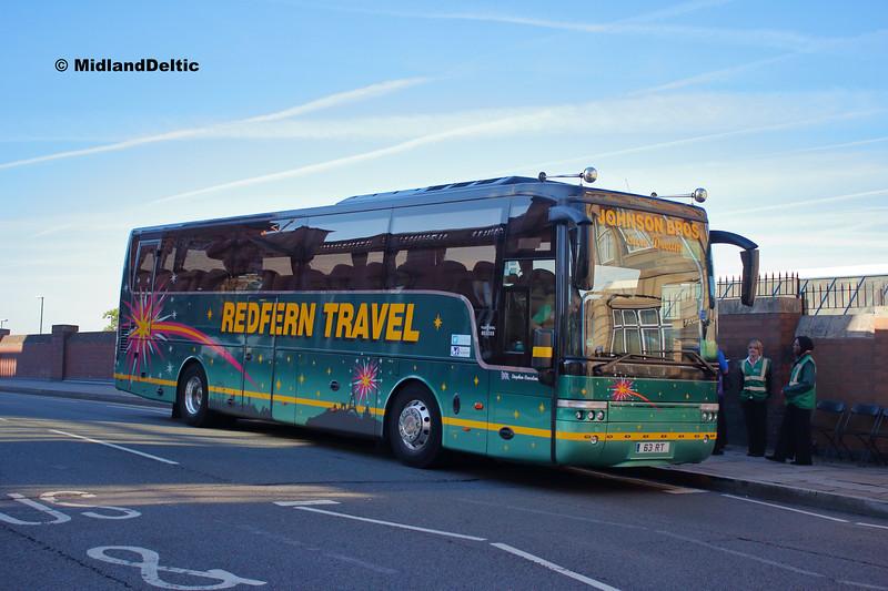 Redfern 63RT, Carrington St Nottingham, 11-08-2018