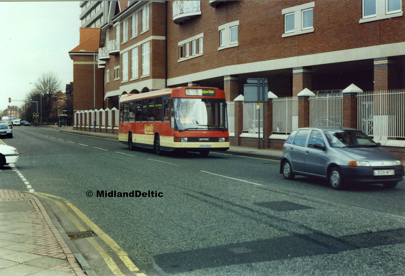 Barton Buses 304, Radcliffe Road West Bridgford, 1999