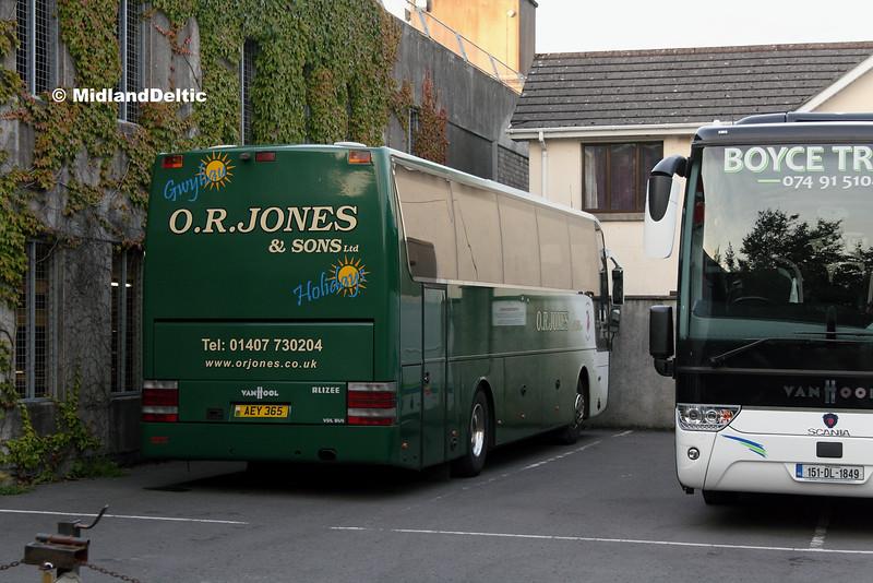Jones AEY365, Heritage Hotel Portlaoise, 07-07-2016