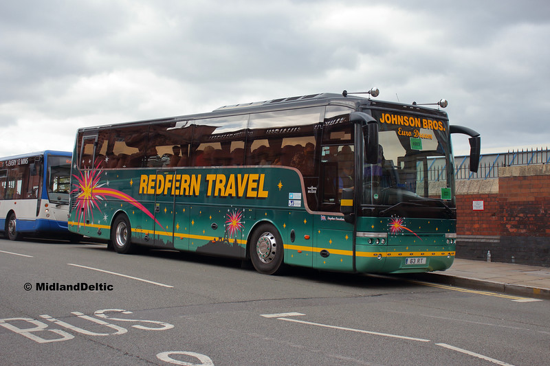 Redfern Travel 63RT, Carrington St Nottingham, 18-08-2018