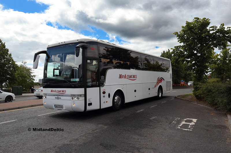 M&A Coaches 08-D-27333, James Fintan Lawlor Ave Porltaoise, 10-08-2018