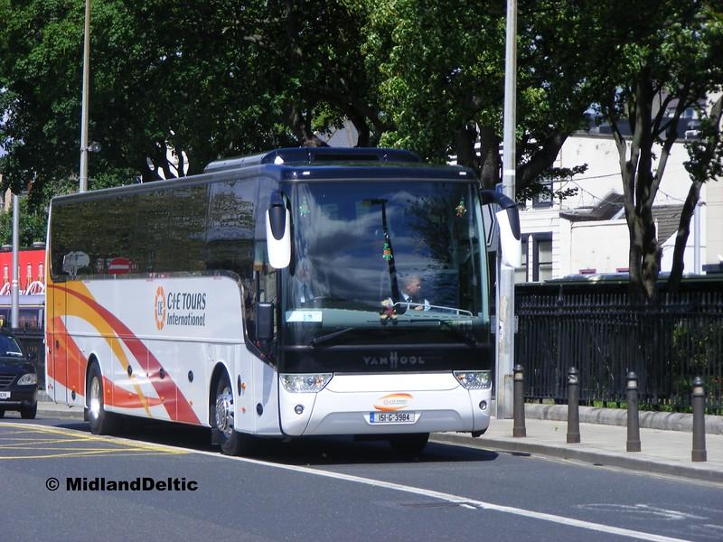 Callinan Coaches 151-G-3984, Wolfe Tone Quay Dublin, 06-06-2015
