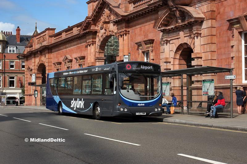 TrentBarton 625, Carrington St Nottingham, 20-08-2019
