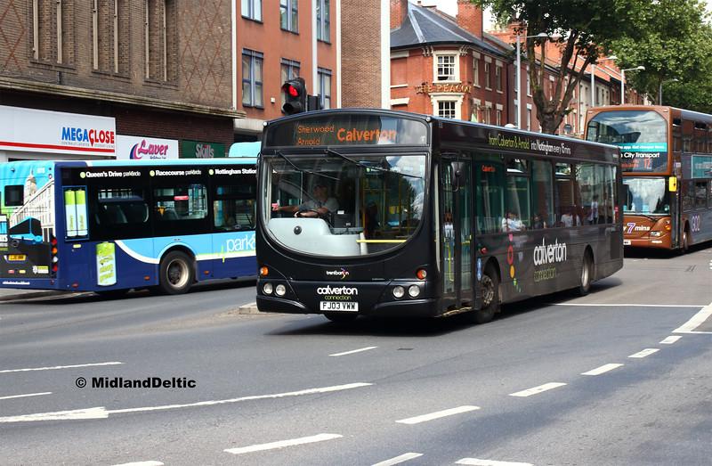 TrentBarton 630, Nottingham, 13-08-2018