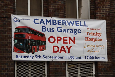 Go-Ahead Camberwell Bus Garage Open Day 2015