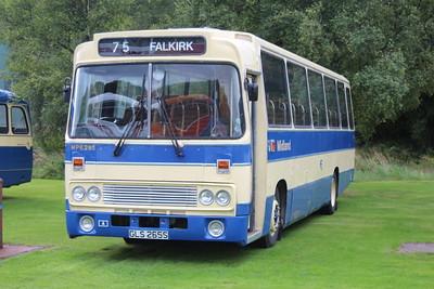 Scottish Vintage Bus Musuem Open Weekend 2017