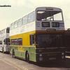 Roadcar 1306, Skegness Bus Station, 14-04-1990