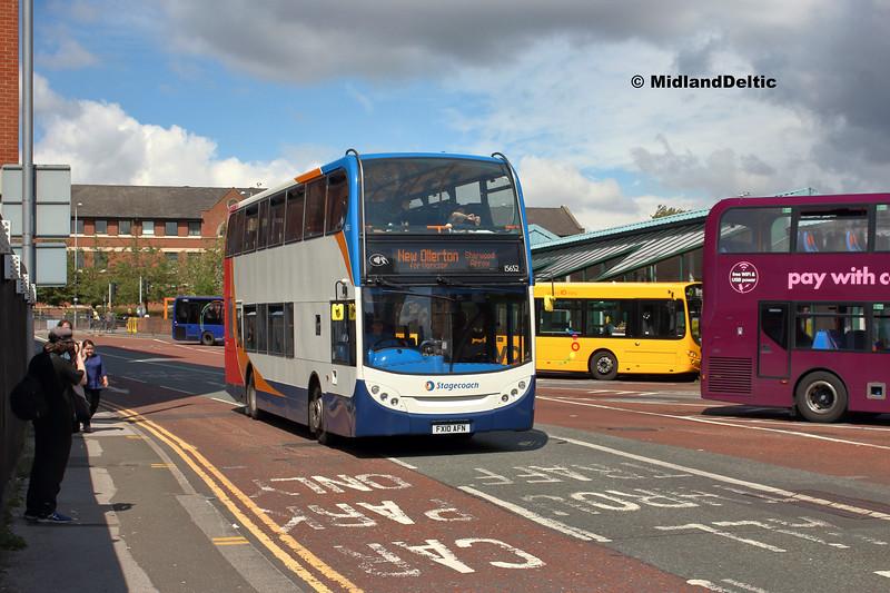 Victoria Bus Station  Stagecoach 15652, Victoria Bus Station Nottingham, 13-08-2018