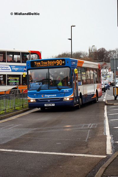 Stagecoach 35115, Holywell St Chesterfield, 226-01-2019