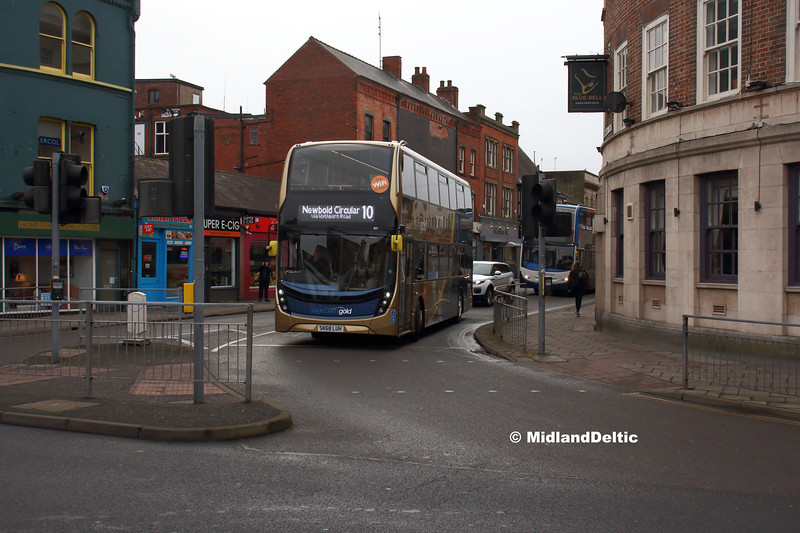 Stagecoach 11119, Cavendish St Chesterfield, 26-01-2019