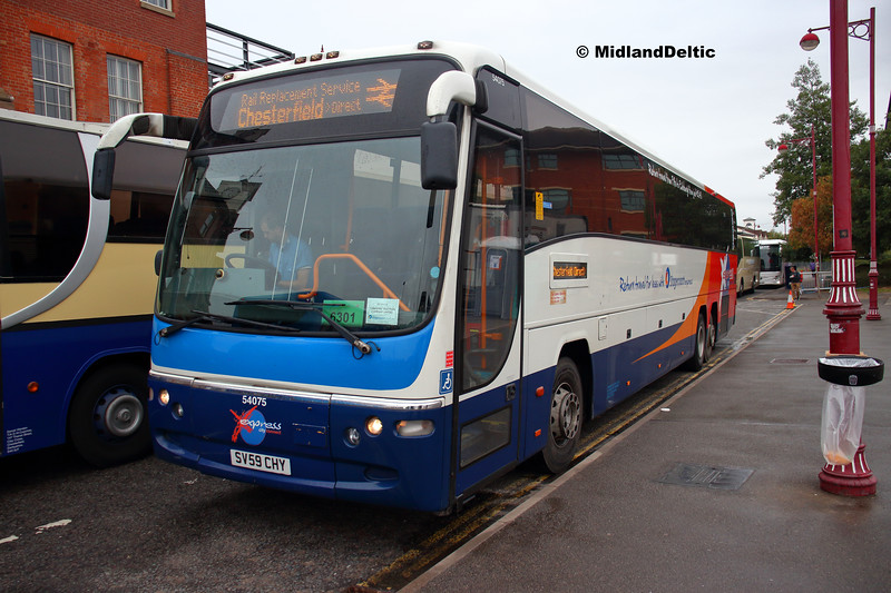 Stagecoach 54075, Roundhouse Road Derby, 11-08-2018