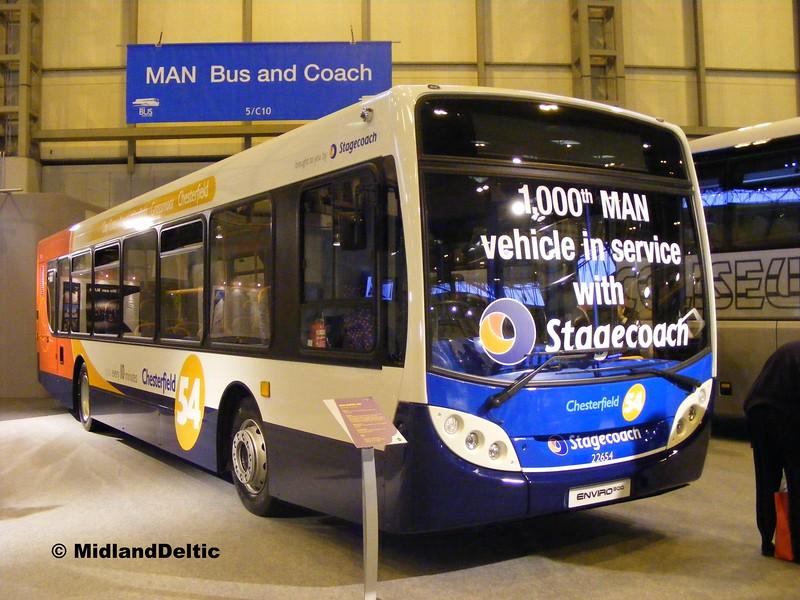 Stagecoach 22654, Euro Bus Expo NEC Birmingham, 05-11-2008