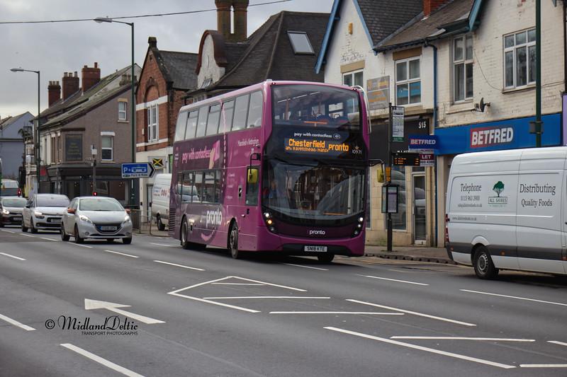 Stagecoach 10971, Mansfield Road Sherwood, 08-01-2020