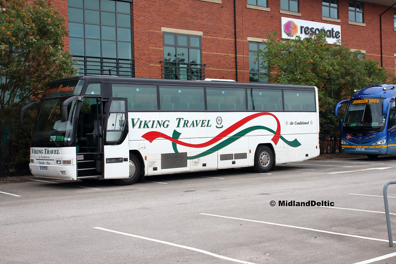 Viking Travel K7PYG, Derby Station Car Park, 18-08-2018