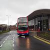Transdev Lancashire United Volvo B7TL Wright Gemini 2 3604 X4 VTD 'Red Express' (3)