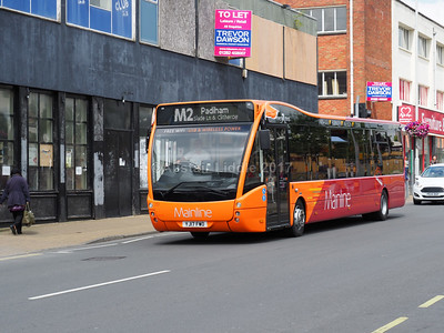 Burnley and Colne Bus Stations 24-07-2017