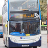 Stagecoach Merseyside & S. Lancs Scania N230UD Enviro 400 15910 PE13 LSV