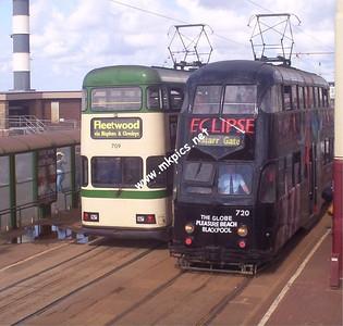 Blackpool Trams- Summer 2004
