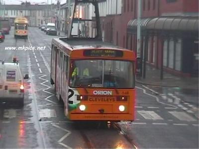 Tram Chasing in Blackpool
