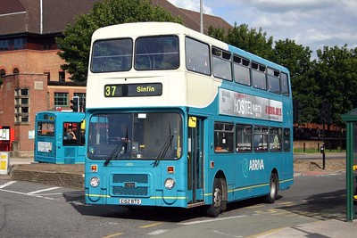 Volvo B10M-50 Northern Counties