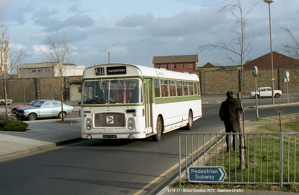 Bristol Omnibus 2072 830402 Swansea [jg]