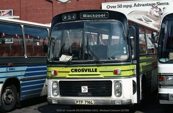 Crosville ERL528 840722 Blackpool [jg]
