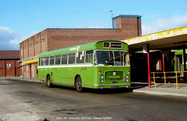 Crosville SRG197 820912 Crewe [jg]