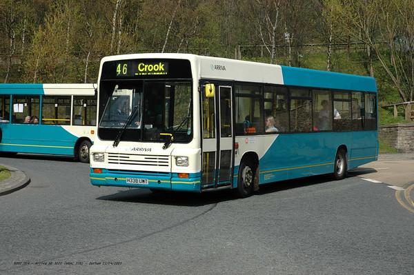 Arriva North East 5020 050421 Durham [jg]