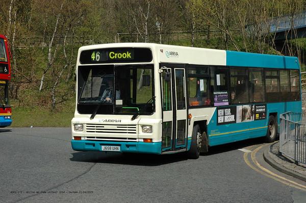 Arriva North East 5018 050421 Durham [jg]