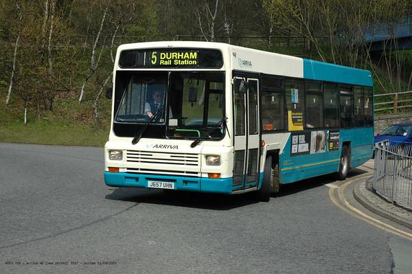 Arriva North East 5017 050421 Durham [jg]