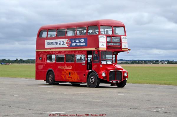 RM8 [preserved London Transport] 120916 Duxford [jg]