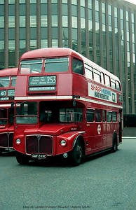 RCL2249 [London Transport] 840405 London Aldgate [jg]